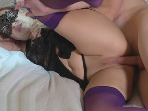Son and mom creampie