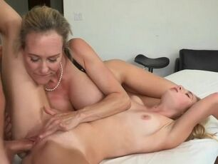 Fucking wife and her mom