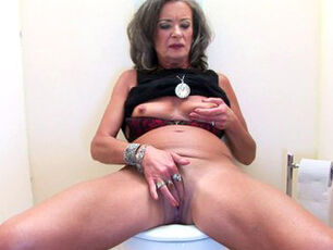 Granny fingering herself
