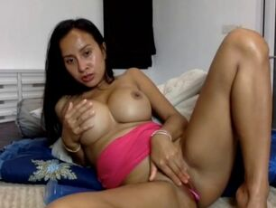 Thai girl handjob