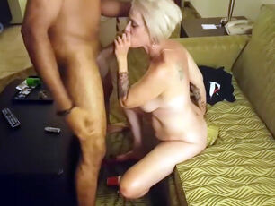 Cute blonde milf