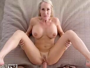 Moms jerking off sons
