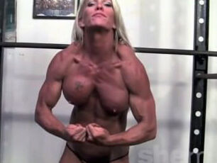 Milf working out