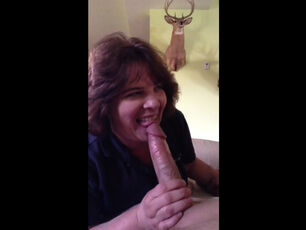 Stepmom son blowjob